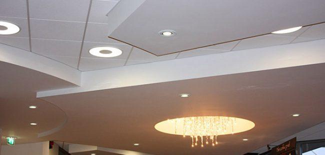 Подвесные потолки -- обзор видов
